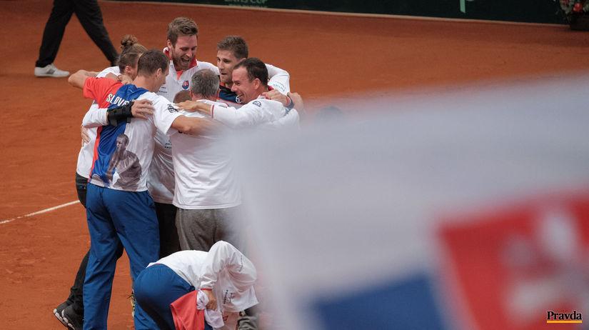 daviscup Slovensko Bielorusko tenis