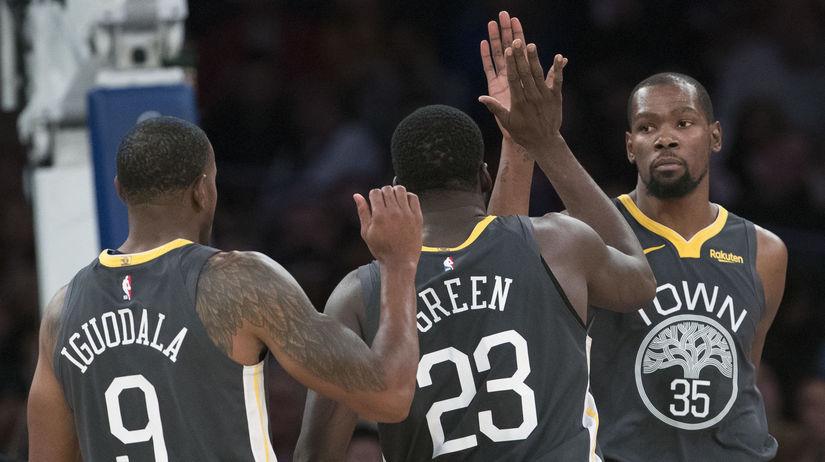 Warriors Knicks Basketball nba