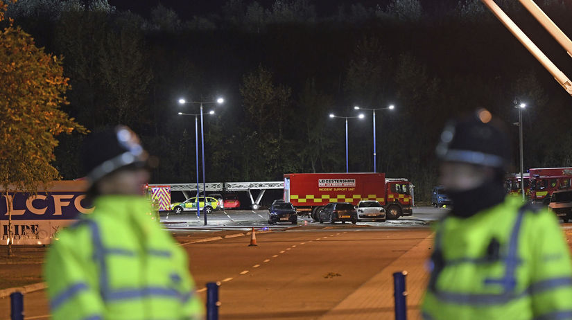 Britain Leicester Incident