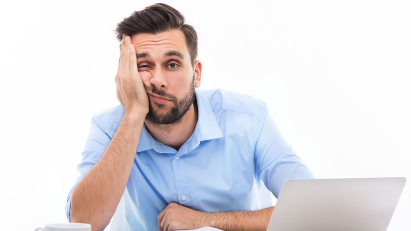 muž, živnostník, odvody, nuda
