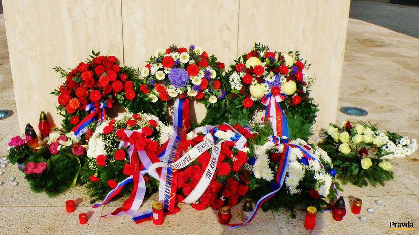 Vence, kvety, pomník, M. R. Štefánik