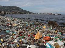 plast, more, znečistenie, odpad