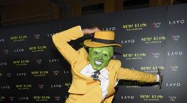 Herečka Kat Graham prišla ako Maska.