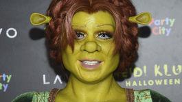 Modelka a televízna osobnosť Heidi Klum opäť nesklamala - na svoju povestnú halloweensku párty prišla ako princezná Fiona z rozprávky Shrek.