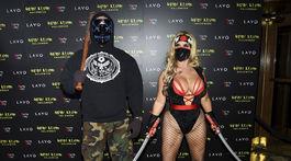 """Raper a herec Ice-T a jeho manželka Nicole """"Coco"""" Austin."""
