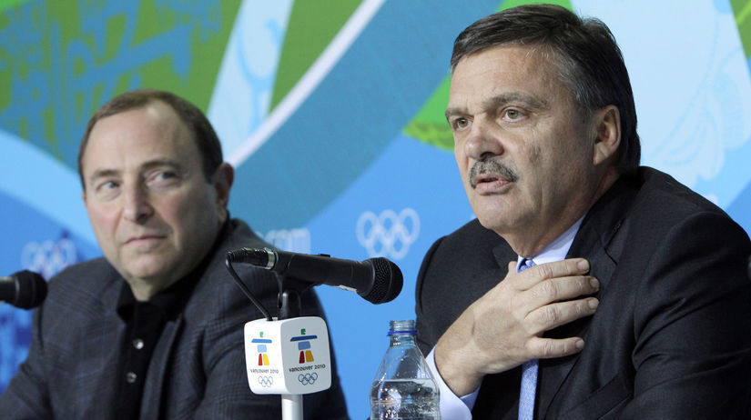 René Fasel, Gary Bettman