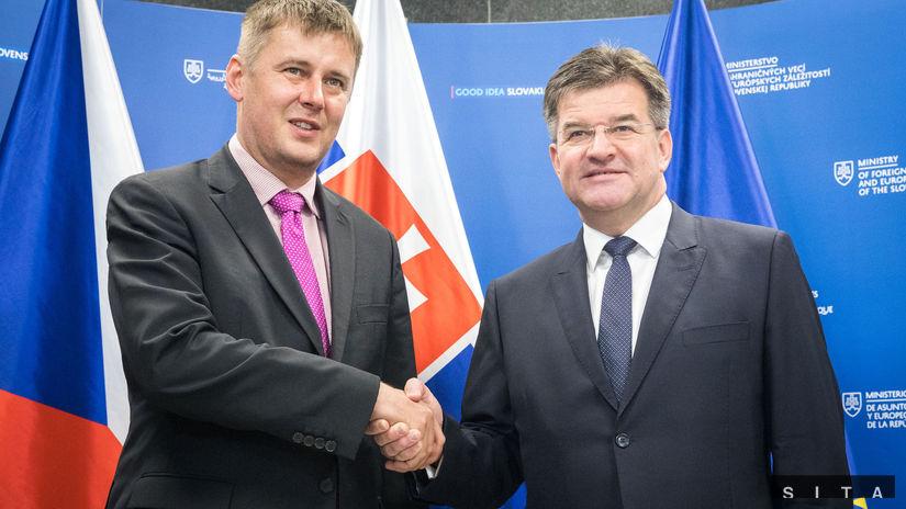 MZV EZ: Prijatie Ministra zahranicných vecí ÈR