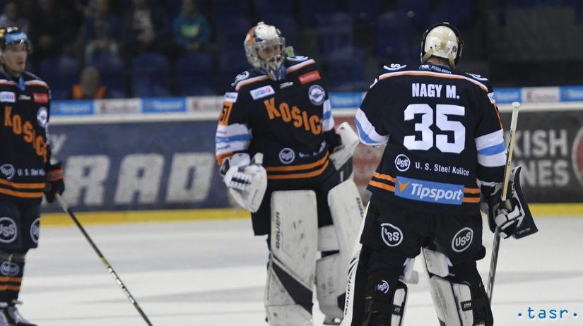 SR Hokej TL 19. kolo Košice Budapešť KEX