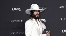 Hudobník Jared Leto dorazil na LACMA Art + Film Gala v Los Angeles.