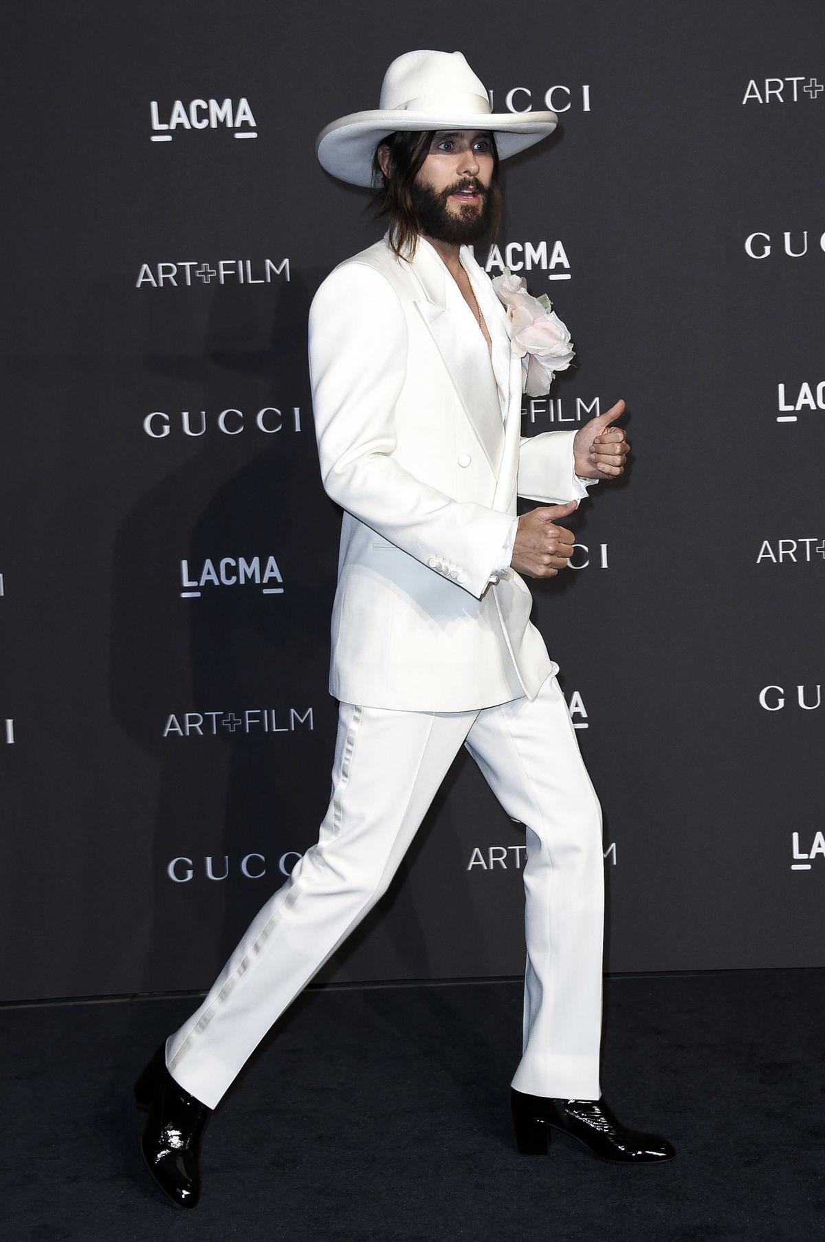 Hudobník Jared Leto dorazil na LACMA Art + Film...