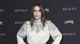 Paris Jackson na podujatí LACMA Art + Film Gala v Los Angeles.