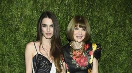 Šéfredaktorka magazínu Vogue Anna Wintour a jej dcéra Bee Shaffer.
