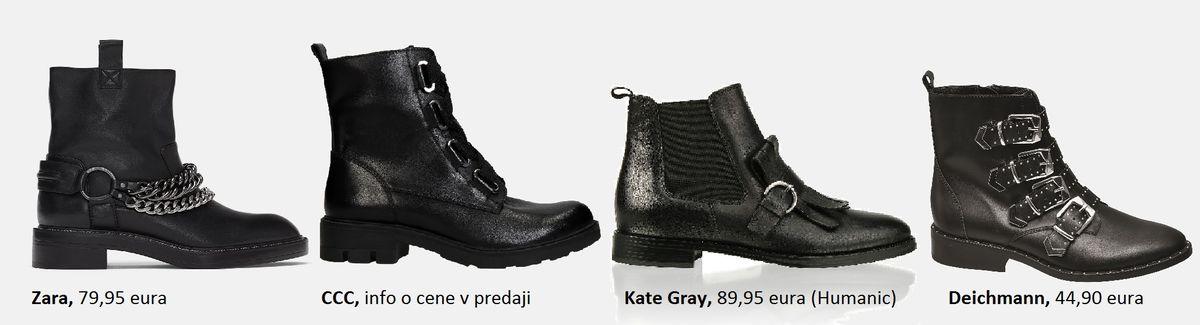 veľký čierny Ghetto topánočky
