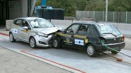 Global NCAP - Ford Fiesta 1998 vs. 2018 crash
