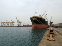 jemen, loď, prístav, more, hudajda