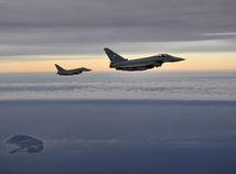nemecko, stíhačky, nato, cvičenie, vojenské, eurofighter