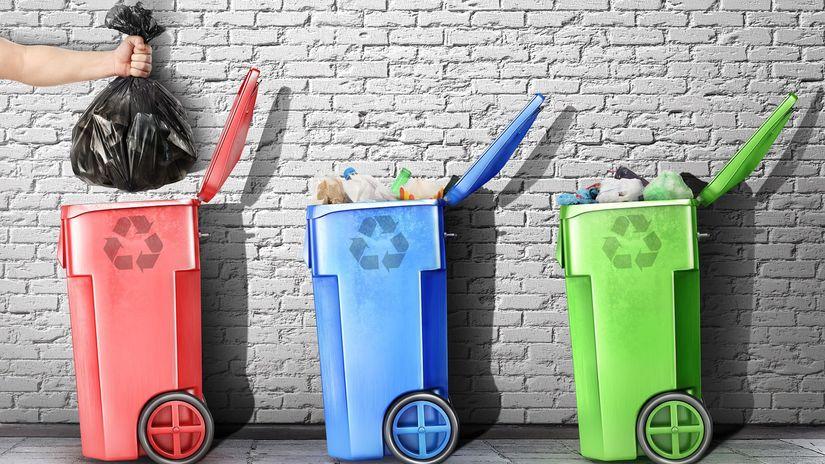 odpad, separácia odpadu, triedenie odpadu,...