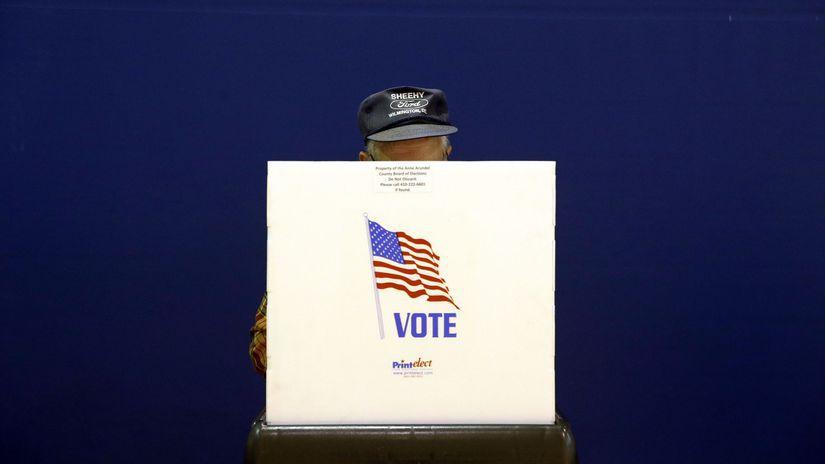 voľby, usa, kongres, senát