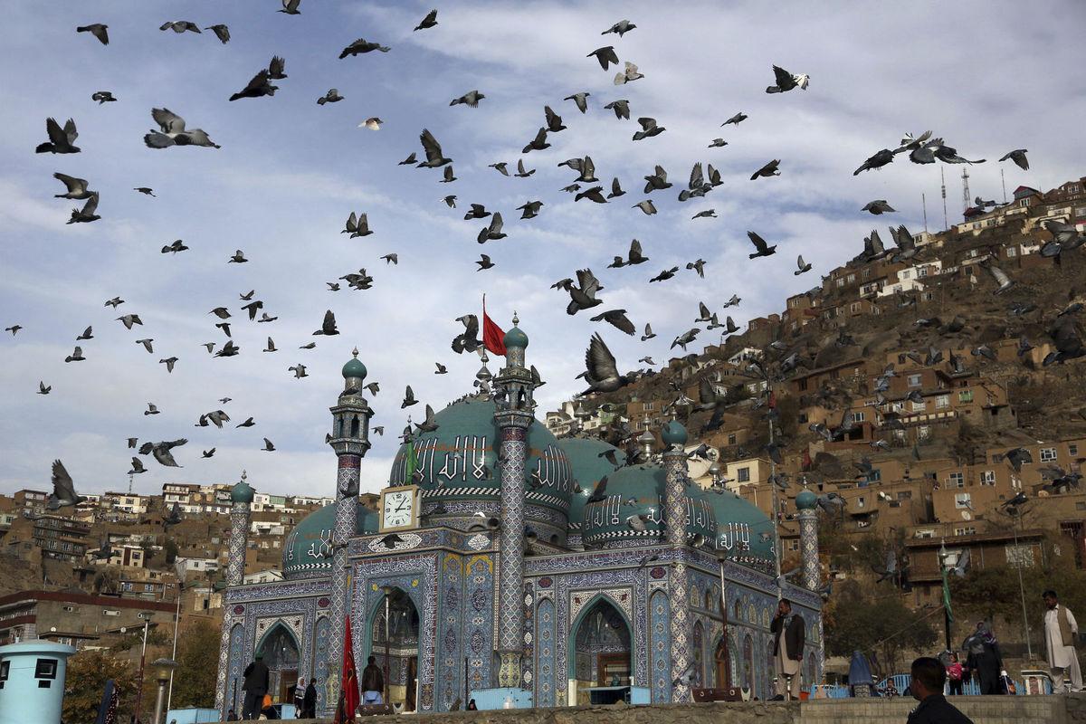 Afganistan, chrám, svätyňa, modlitba, islam, moslimovia