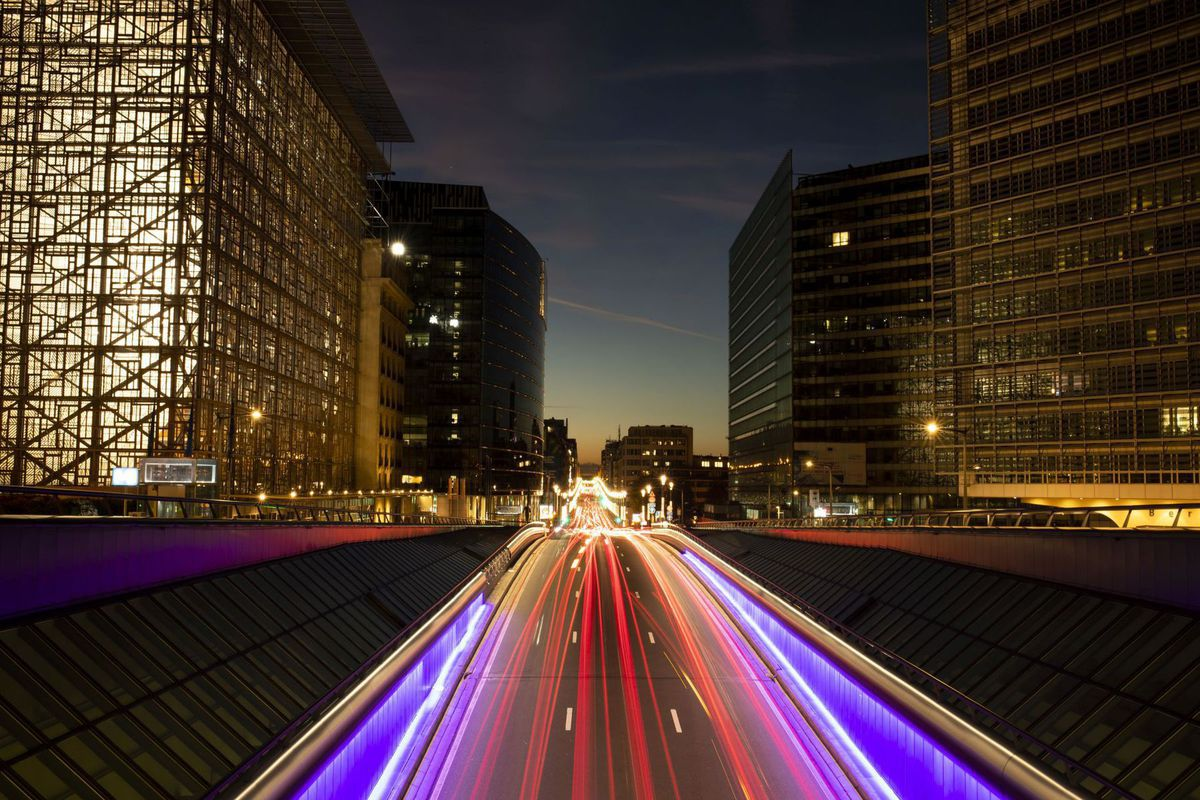 Belgicko, cesta, autá, doprava, diaľnica, Brusel, EÚ, únia