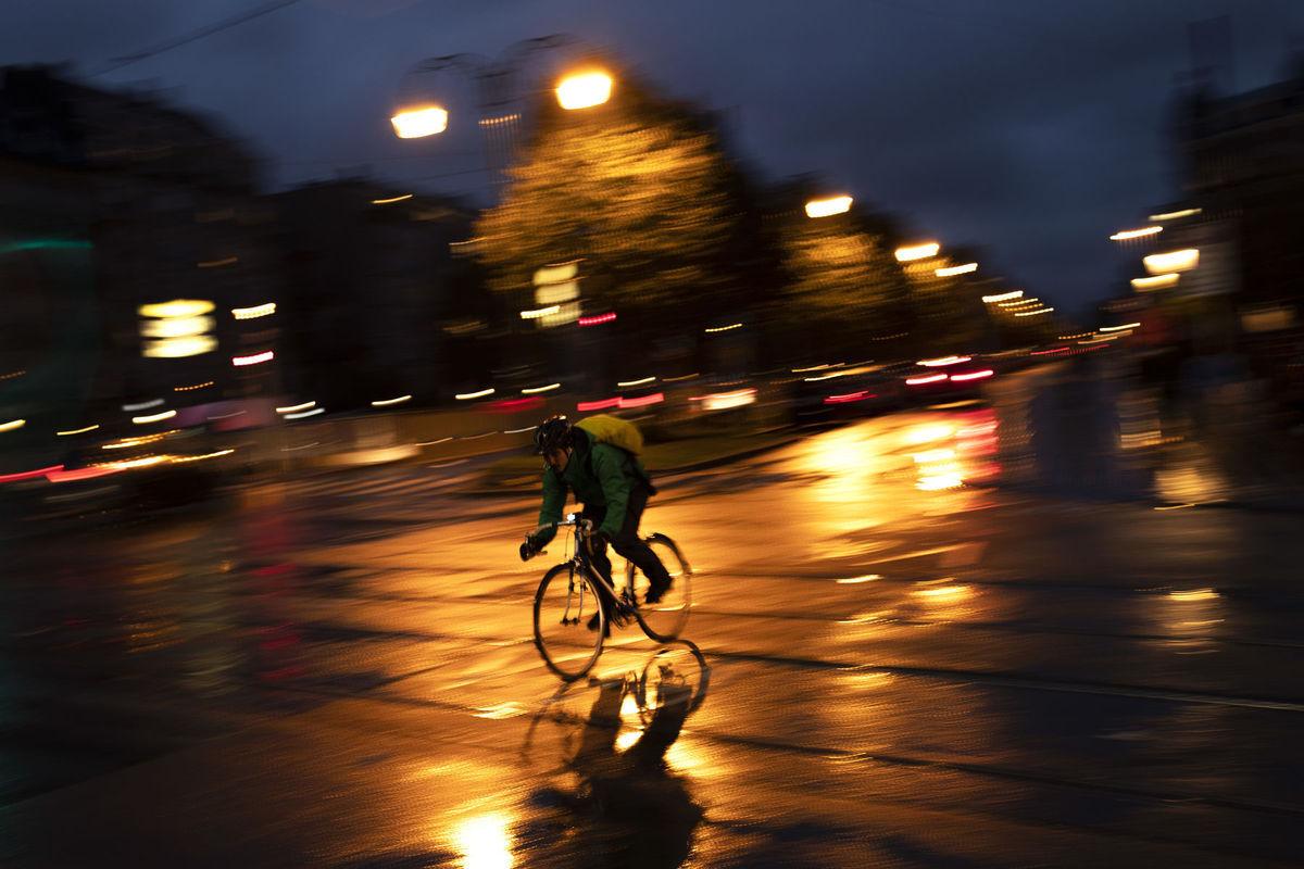 cyklista, bicykel, Belgicko, Brusel