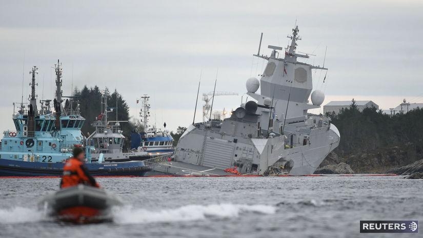 nórsko, fregata, loď, čln, bojová loď,...