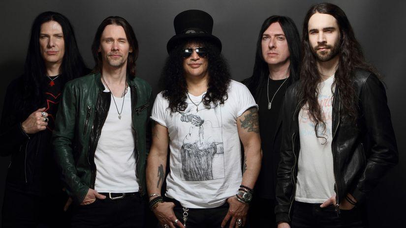 Na Slovensko zavíta Slash z Guns N'Roses