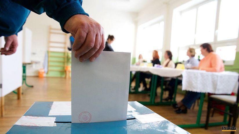 voľby, volebná miestnosť, hlasovací lístok, urna