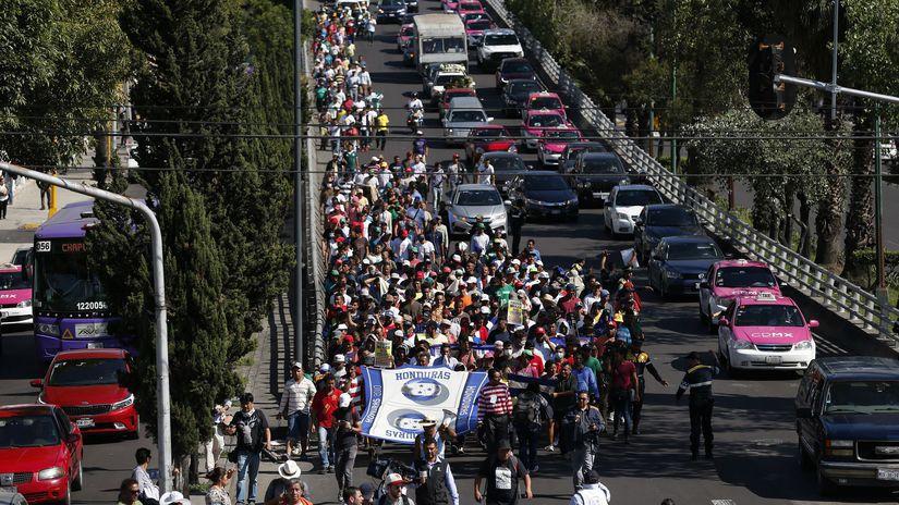 amerika, usa, mexiko, migranti, karavana