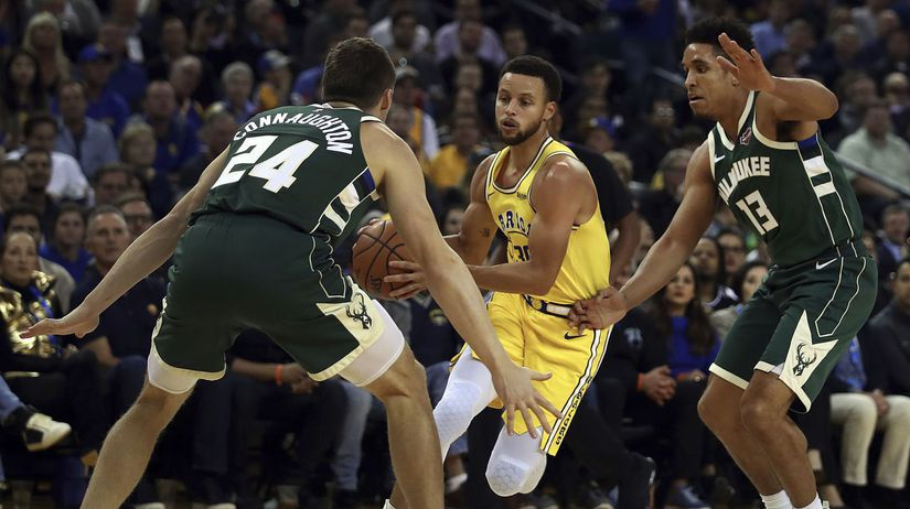Bucks Warriors Basketball NBA
