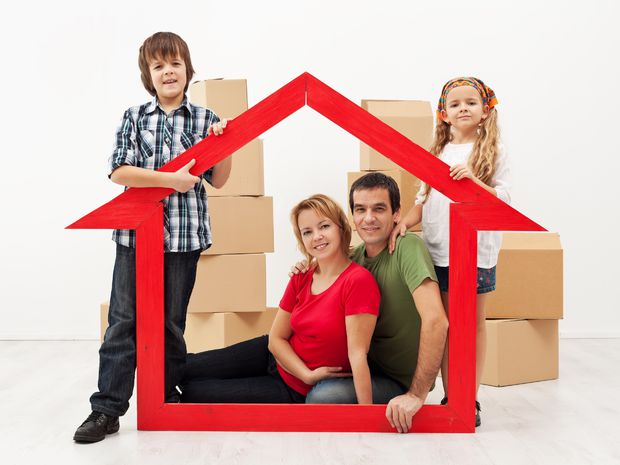 dom, bývanie, sťahovanie, rodina