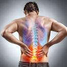 osteoporóza, bolesť chrbta, chrbát, muž