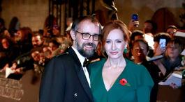 Spisovateľka J.K. Rowling a jej manžel Neil Murray.
