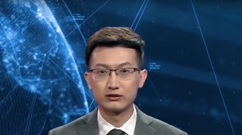 Čínska štátna spravodajská agentúra, umelá...