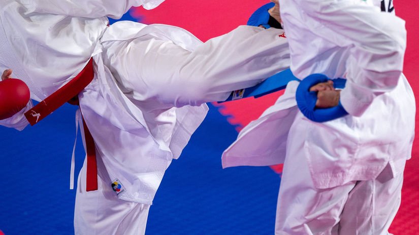 karate, ilustračná