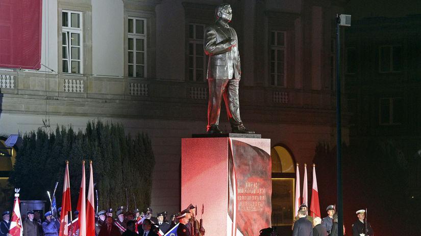 Lech Kaczynski, nezávislosť poľsko
