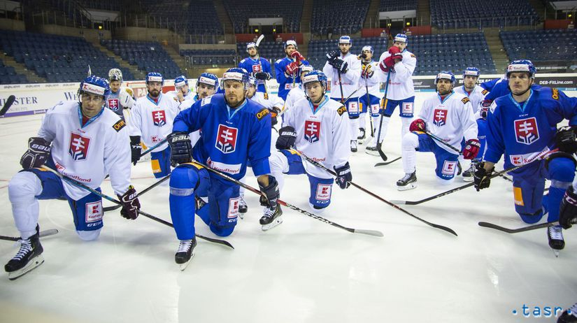 Slovensko, hokej, tréning