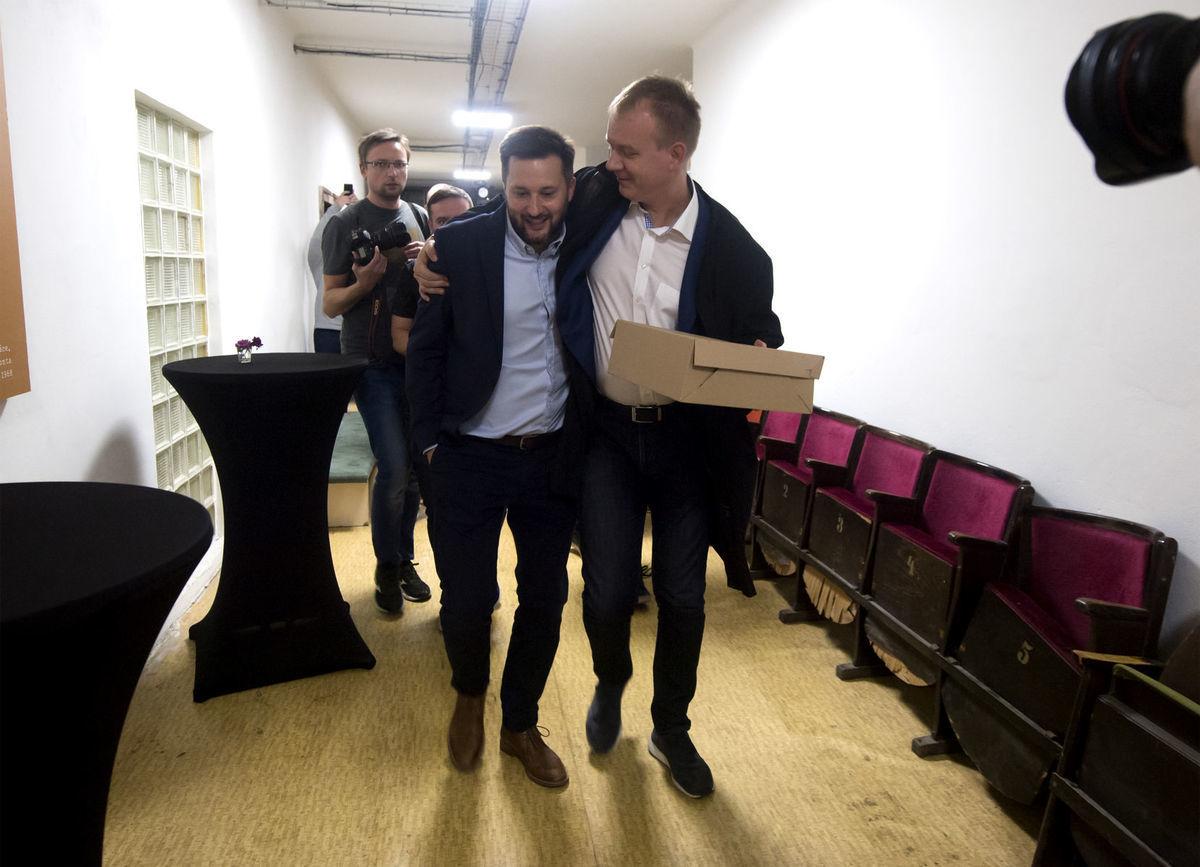 Kandidát na primátora mesta Bratislava Matúš. a02aa4864f