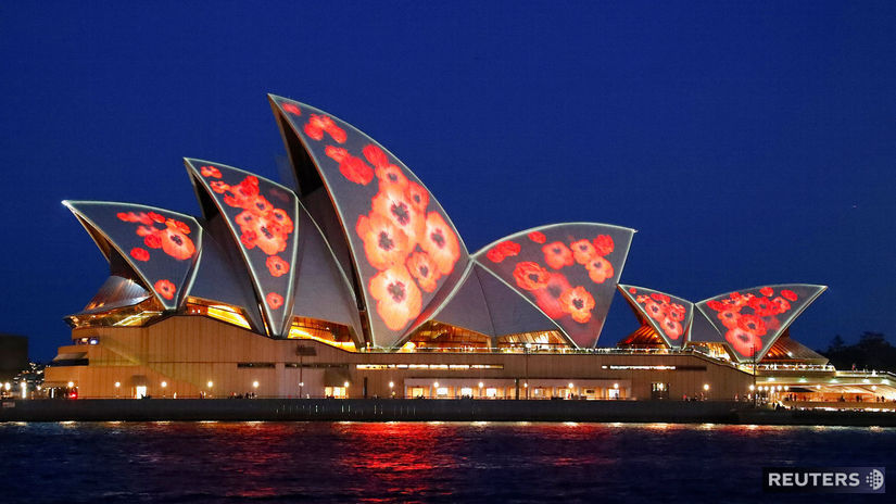 Austrália, Sydney, opera, 100. výročie koniec...