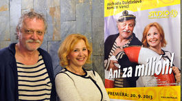 Marián Geišberg a Kamila Magálová
