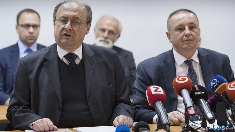 SR Bratislava voľby2018 výsledky vyhlásenie...