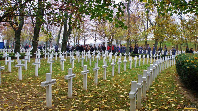 Vojenský cintorín, Petržalka