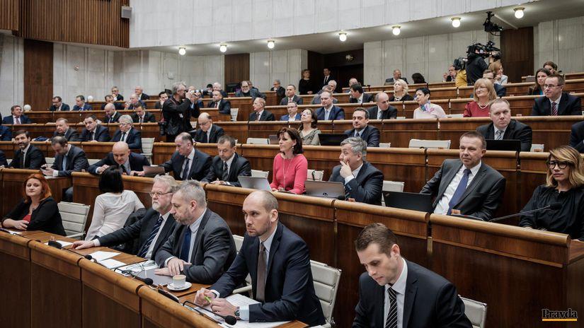 parlament, poslanci, poslanec, NR SR