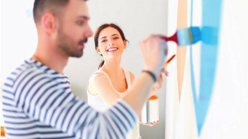práca, stavba, maľovanie, interiér, stavebné...