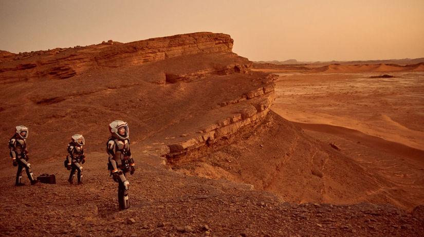 seriál mars, national geographic,
