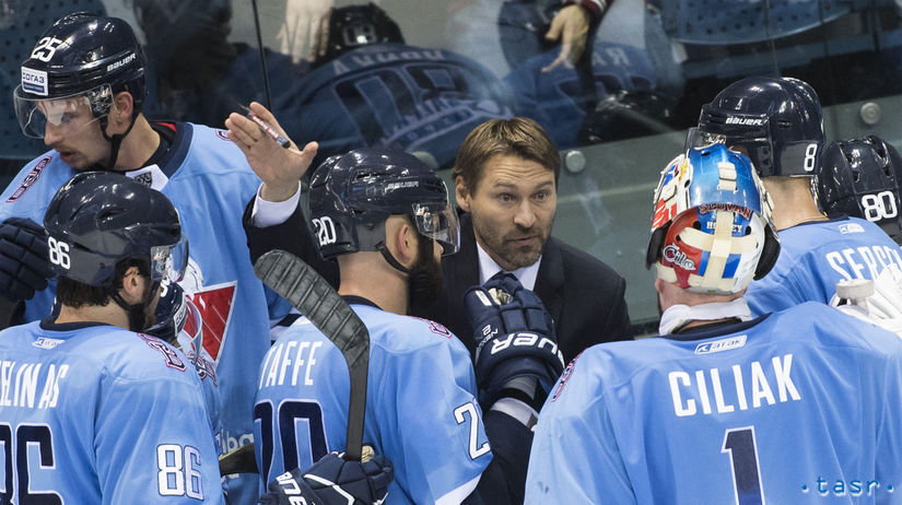 SR hokej KHL Slovan Astana BAX