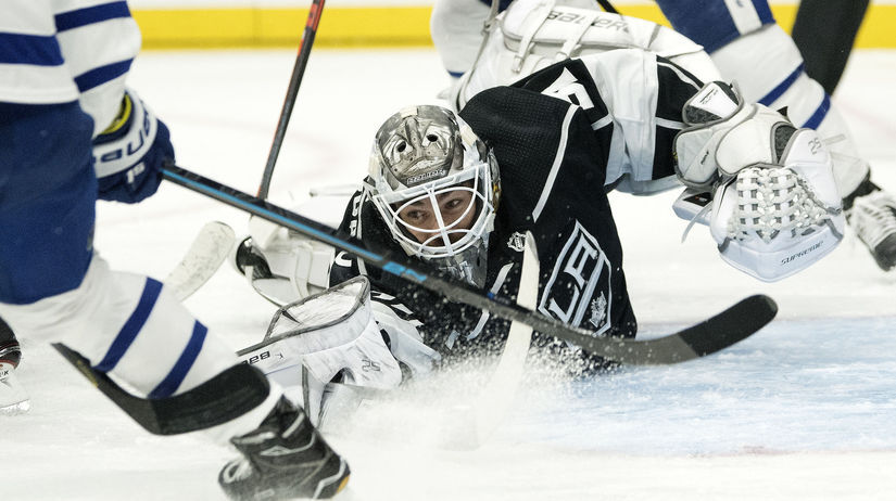 Maple Leafs Kings Hockey budaj