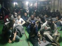 migranti, líbya