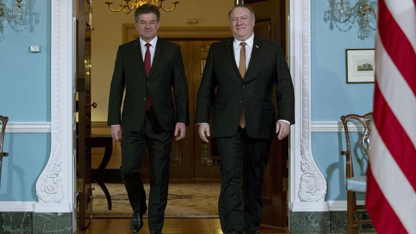 USA Slovensko Lajčák Pompeo