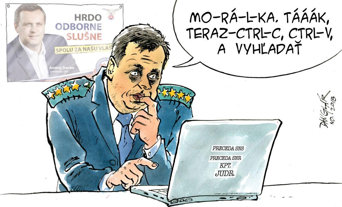 Karikatúra 16.11.2018
